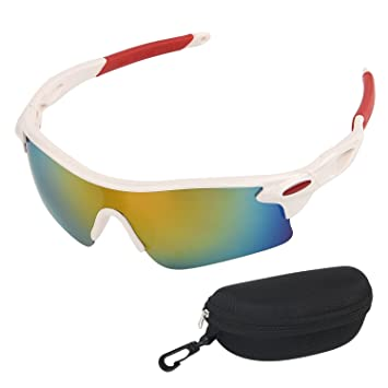TOMSHEIR Sports Gafas de Sol para Ciclismo Running ...