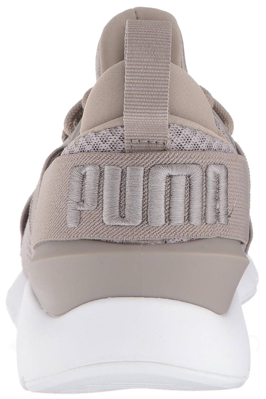 PUMA Women's Muse En Pointe Wn Sneaker B072QZ5LKL 8 B(M) US|Rock Ridge-rock Ridge