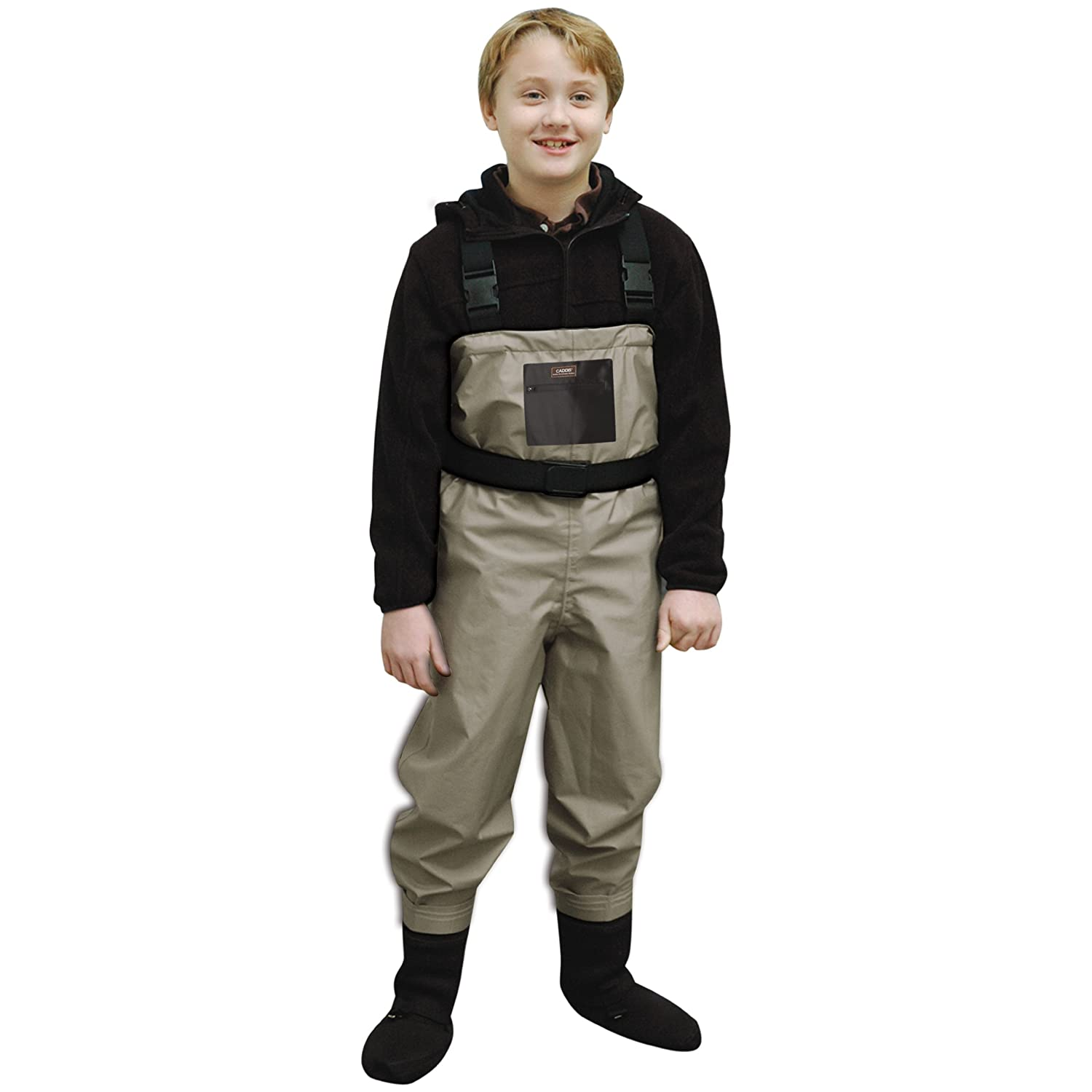 Kids camo waders kids matttroy for Kids fishing waders