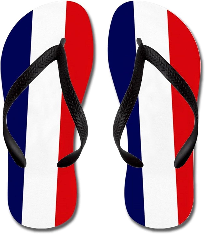 JKYUKO Sailing Flag flip Flops