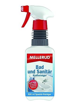 mellerud bad und sanitär kraftreiniger 0,5 l 2001002060: amazon.de ... - Bad Und Sanitar