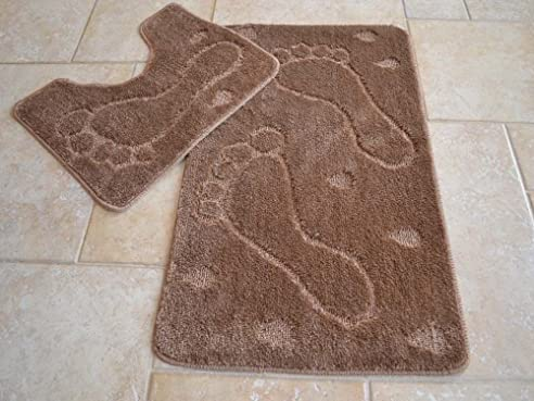 Badematten Lila badematten set 4 teilig gallery of badezimmer teppich set badematte