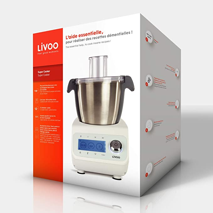LIVOO Super Cooker   1000 W: Amazon.es: Hogar