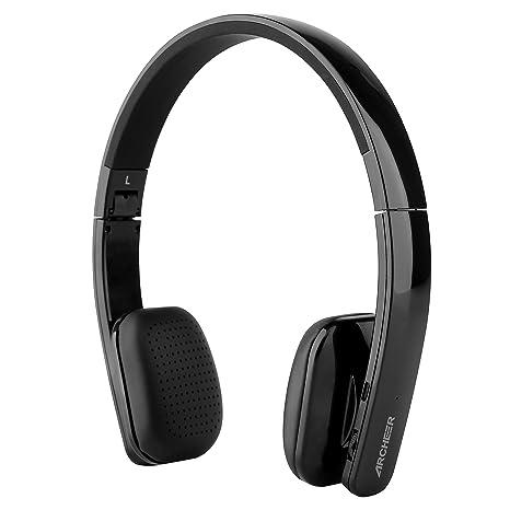 Archeer AH08 Cuffie Stero Senza Filli Headphones Bluetooth Stereo On-ear  Wireless Microfono Incorporato e e46d131201a2
