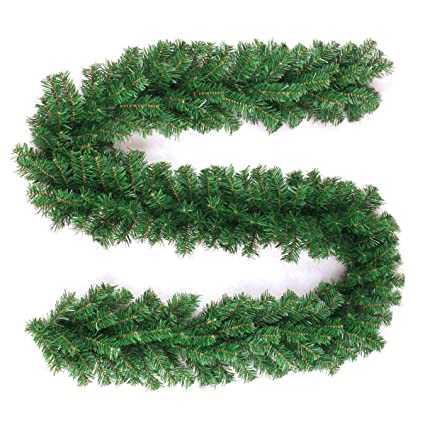 Amazon Com Wsd 10ft Garland Prelit Garland Lighted
