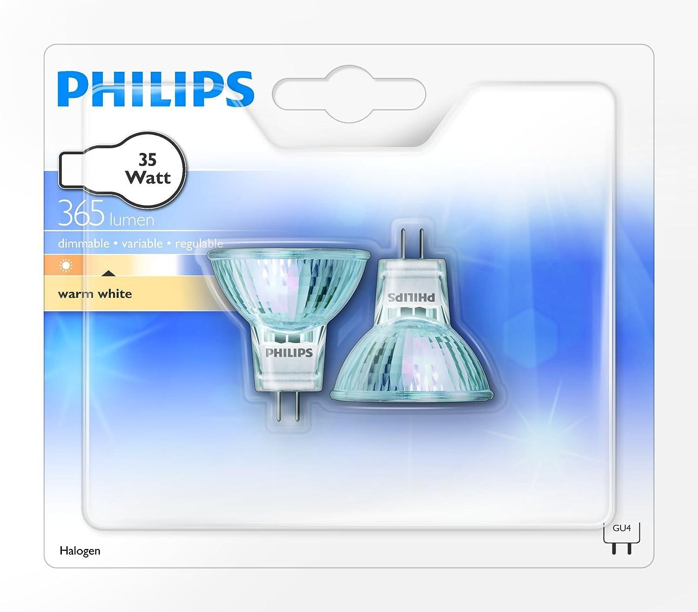 Philips Ampoule Halog/ène Spot Culot GU4 35 Watts