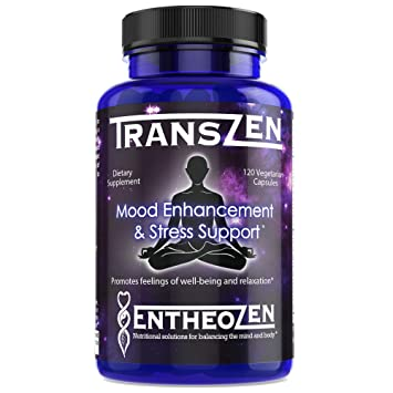 TransZen | Natural Supplement - Depression & Anxiety | Boost Your Mood &  Stay Stress Free |