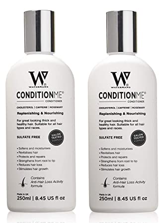 75d064674f7 Waterman's Condition Me, Hair Growth Conditioner Sulfate Free, 8.45 Oz  (Pack of 2