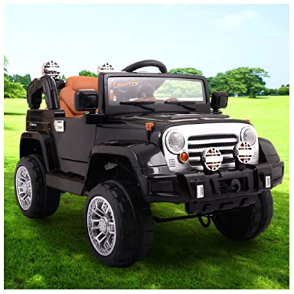Coming Kids Jip.Unbranded 12v Jeep Style Kids Ride On Truck Battery Powered Electric Car W Remote Control