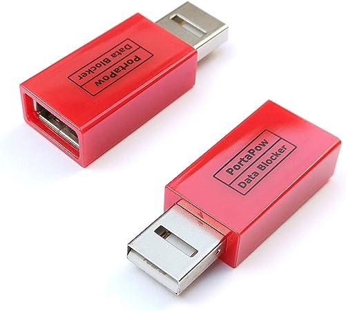 PortaPow carga rápida con adaptador USB Bloque de datos con SmartCharge Chip (Pack de 2): Amazon.es: Electrónica