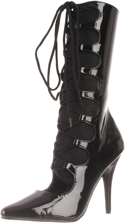 PLEASER SED1049/B - Charol - Botín Mujer: Amazon.es: Zapatos y complementos