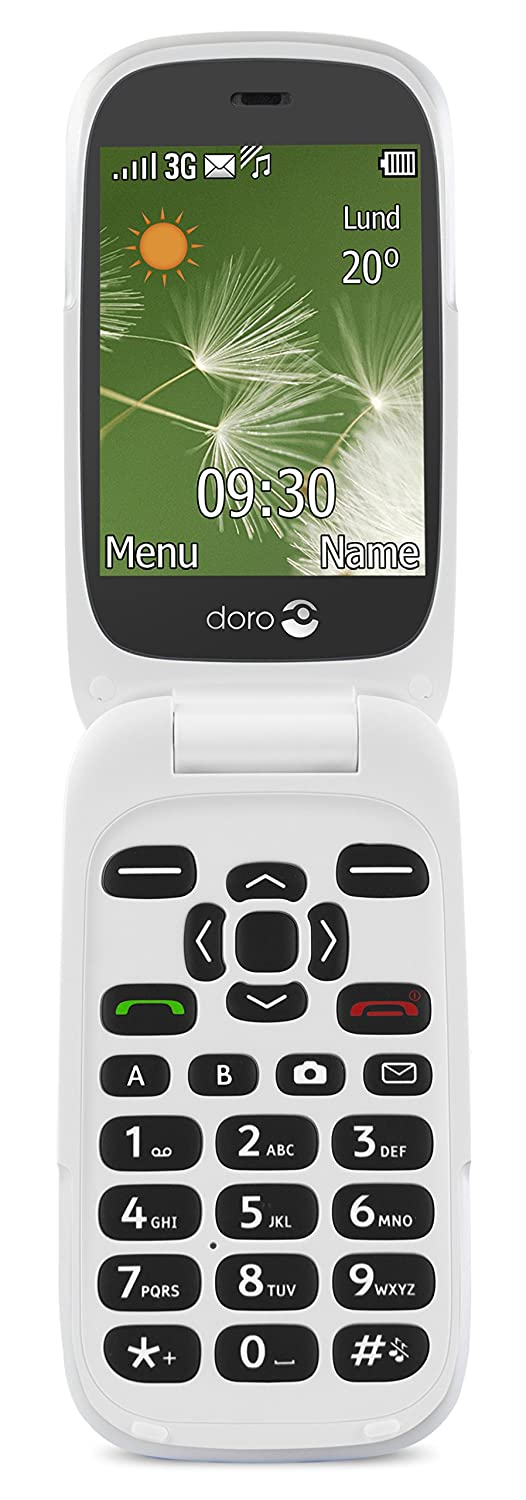 Doro 71186520 Easy To Use 3g Uk Sim Free Mobile Phone Amazon