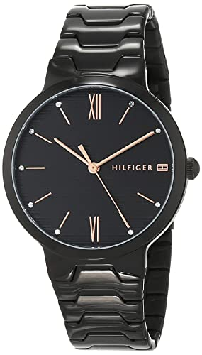 Tommy Hilfiger Reloj Analógico para Mujer de Cuarzo con Correa en Acero Inoxidable 1781960: Amazon.es: Relojes