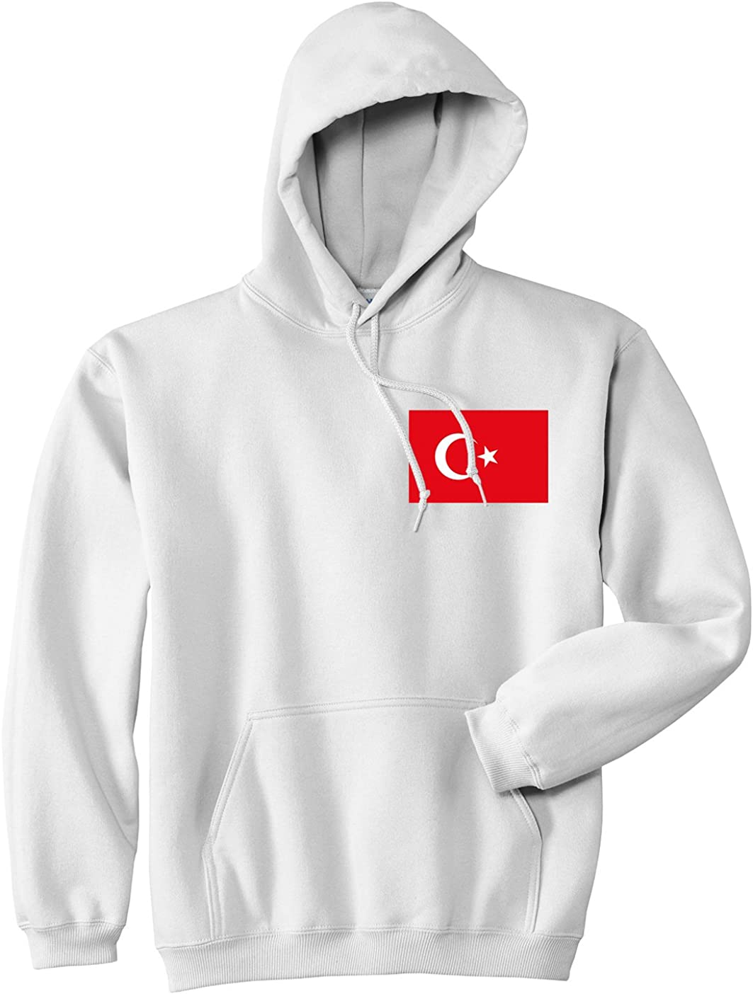 Kings Of NY Turkey Flag Country Chest Pullover Hoody Hoodie