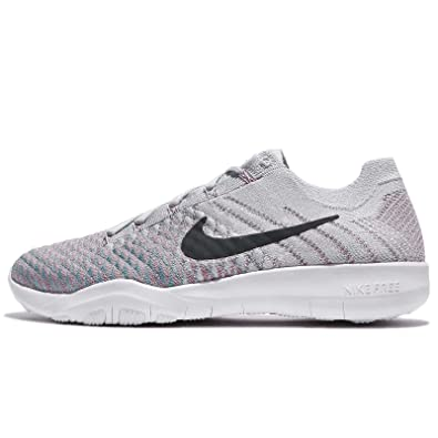 on sale aac98 ea805 Image Unavailable. Image not available for. Color  NIKE Women s WMNS Free  TR Flyknit 2, Pure Platinum Anthracite, 8 US