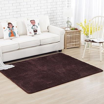 Amazon.com: AILI Pure Non-Slip Carpet, Color Living Room ...
