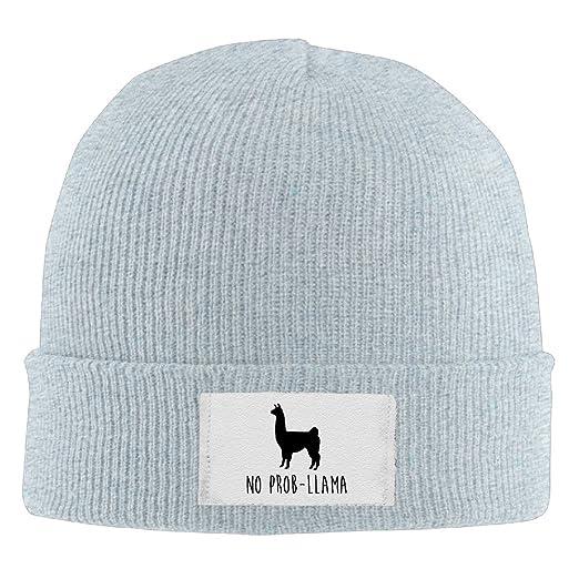 Amazon.com  Winter No Prob-Llama Funny Beanie Knit Hat (6311385044782)   Books 8a167b58059