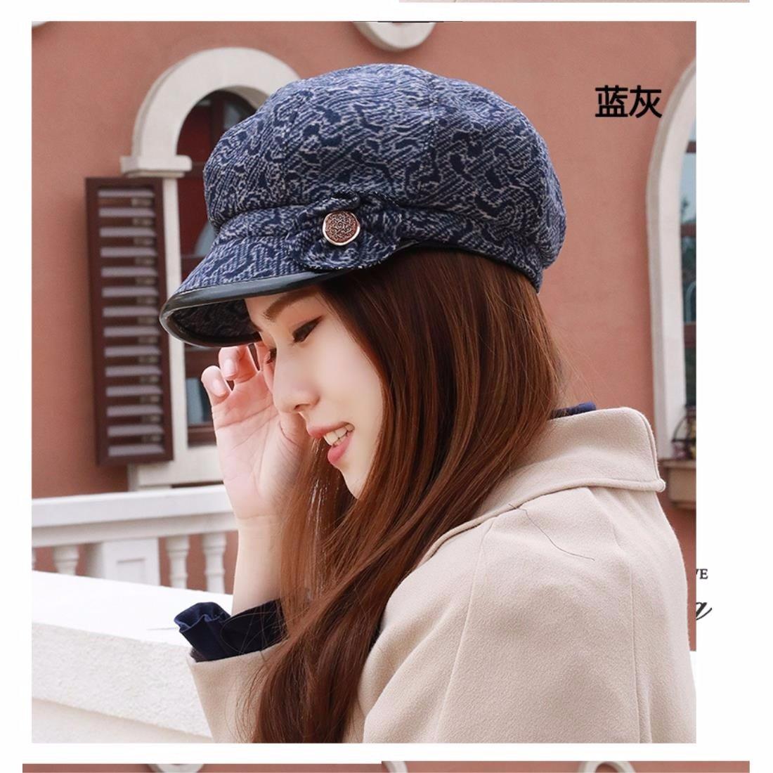 b5ea2c65b Xiaogege New productsIn the spring of older female cap hat octagonal ...