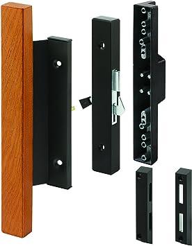 Prime Line mp1105 corredera de cristal puerta mango de madera, 1 ...