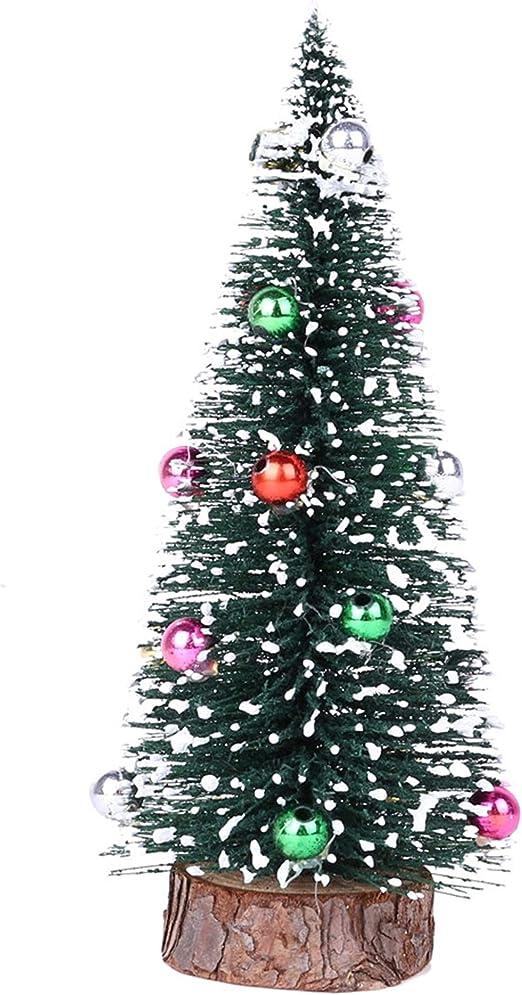 Albero Di Natale Happy Casa.Happy Event Mini Albero Di Natale In Legno Di Pino Con Base In Legno A 20cm Amazon It Casa E Cucina