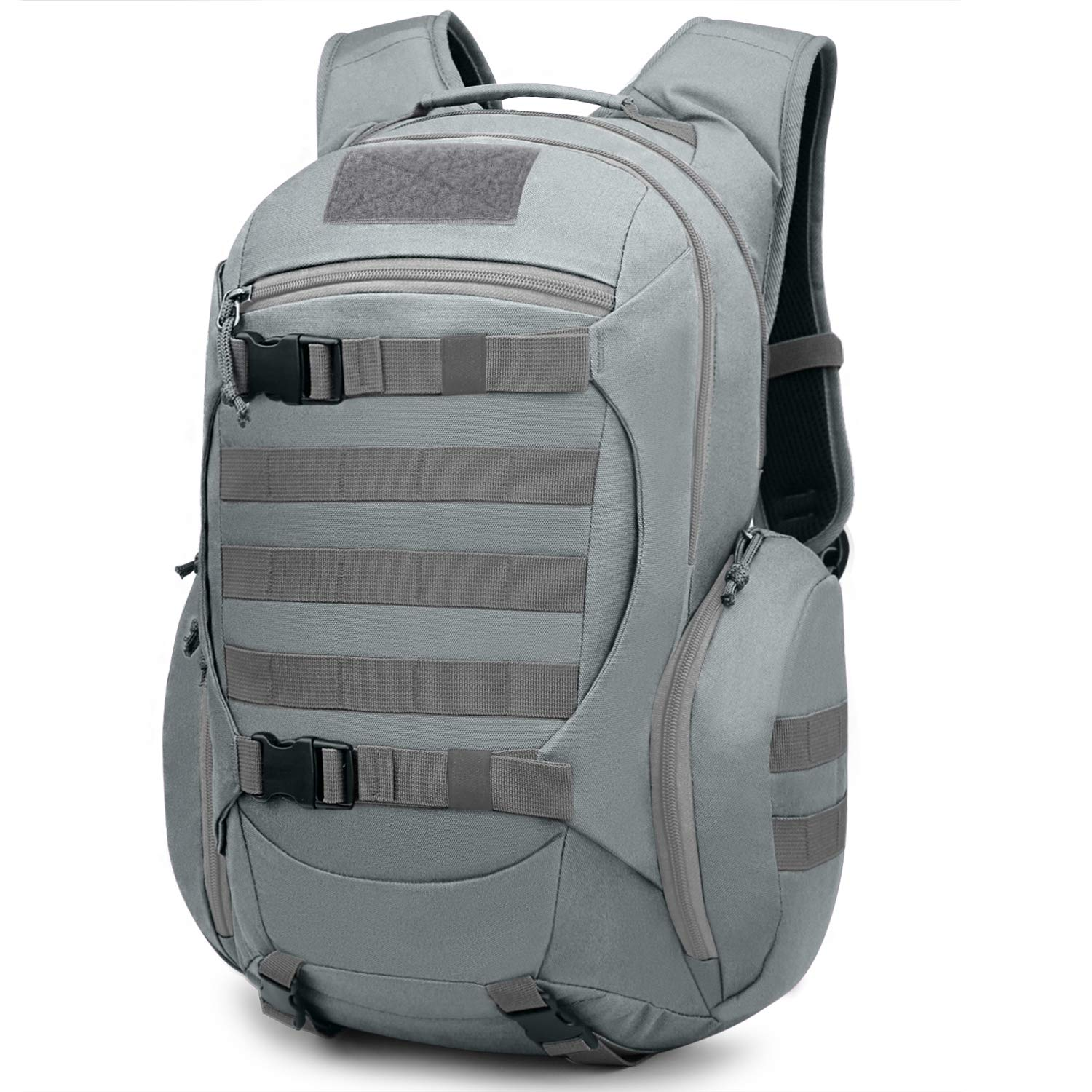 Mardingtop 28L Tactical Backpacks Molle Hiking daypacks for Camping Hiking Military Traveling 28L-Gray
