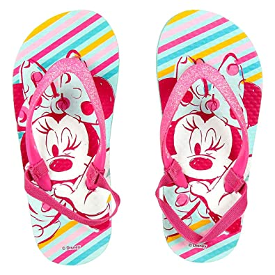 8b8ee769ae4 Tongs Fille Minnie Disney avec Glitter et Bande Élastique ...