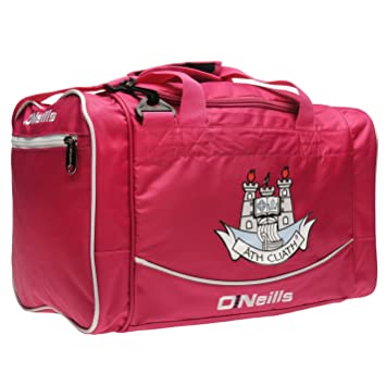 6f8060b44978b2 O'Neills Dublin GAA Holdall Pink Sports Kit Bag Gymbag Carryall H:11 ...