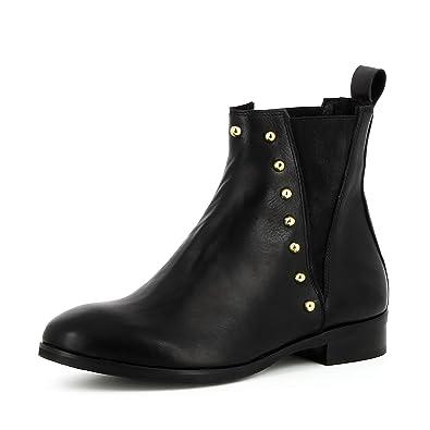 Shoes Bottines Cuir Aurora Lisse Femme Evita Chaussures vR7pqwqx