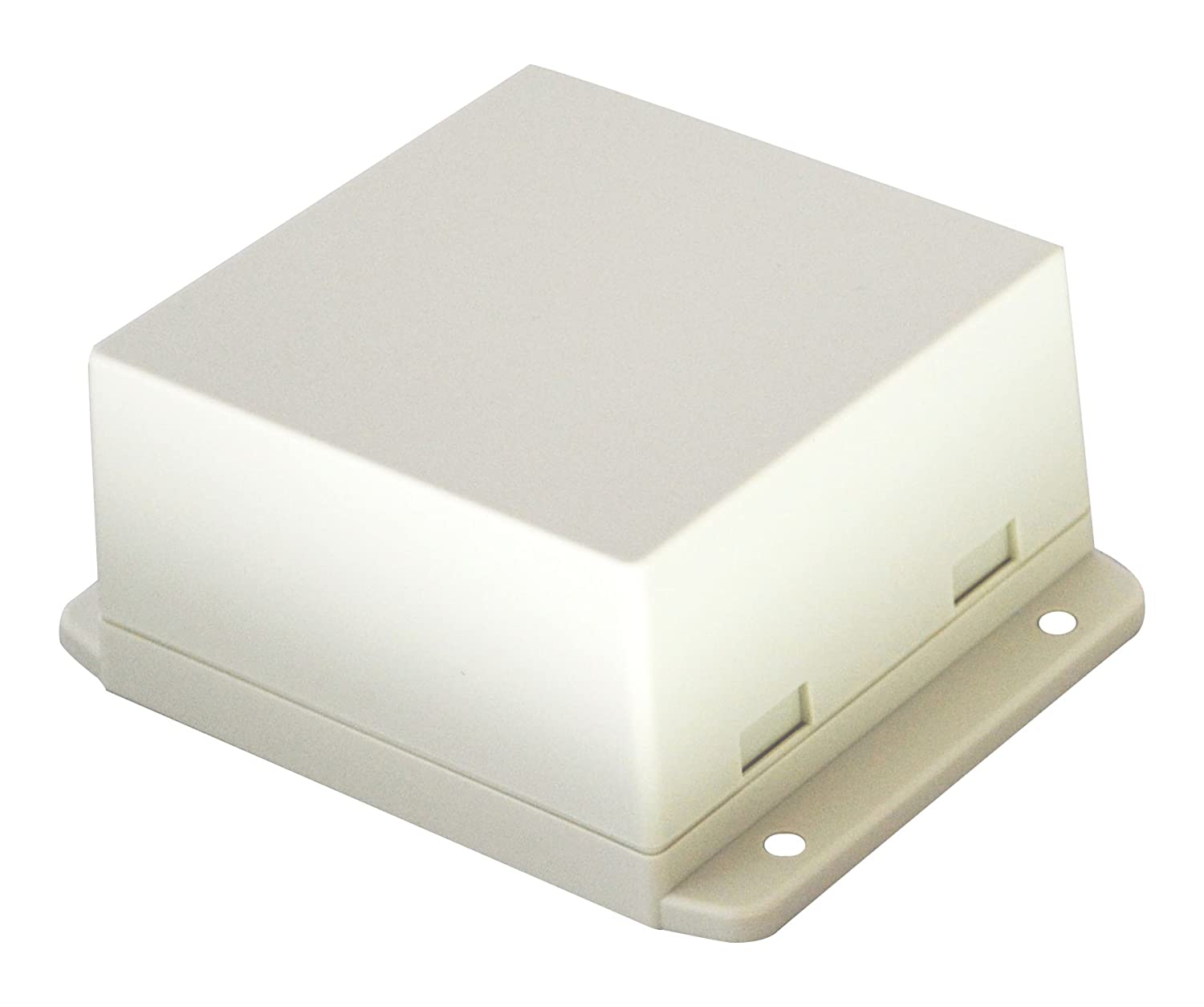 White BUD Industries CU-18431-W Snap Cover Utility Box