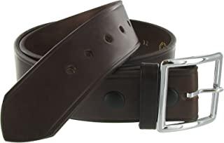 product image for Leather 1.75in. Garrison Leather Belt US Made, Black or Brown