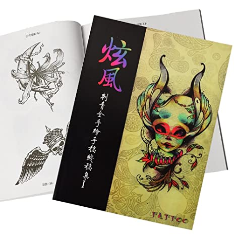 Buy Generic Full Hand Drawing Tattoo Sketch Reference Book ...