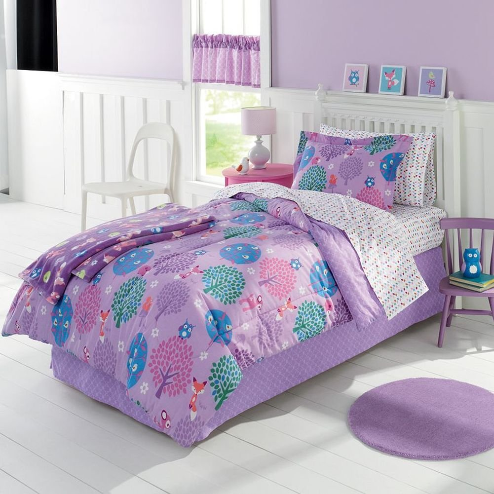 Bon Amazon.com: Jumping Beans Full Bed In A Bag Cozy Critters Owl Comforter Set  Sheets Sham 7 Pc: Home U0026 Kitchen
