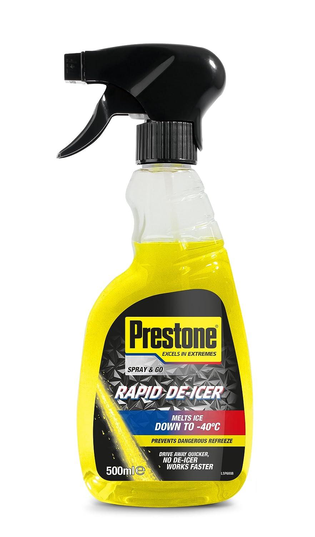 Prestone Rapid De-Icer 500ml Holt Lloyd International Ltd LOYPDEI0101A B00AIMRTKY