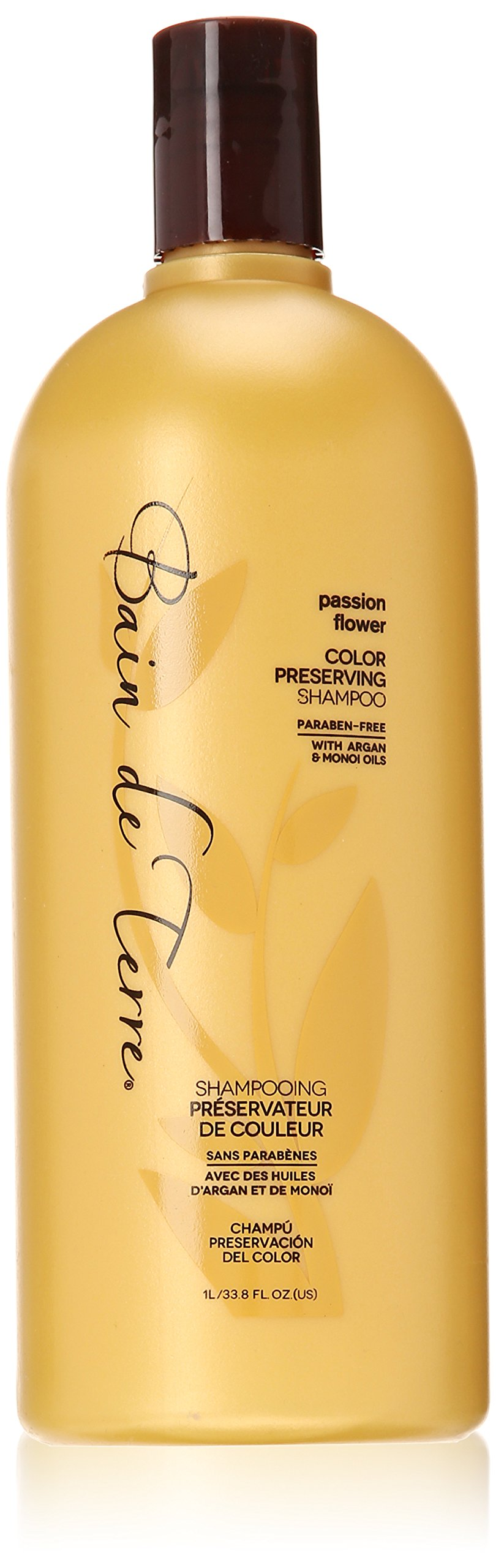 Bain de Terre Color Preserving Shampoo, Passion Flower, 33.8 Ounce