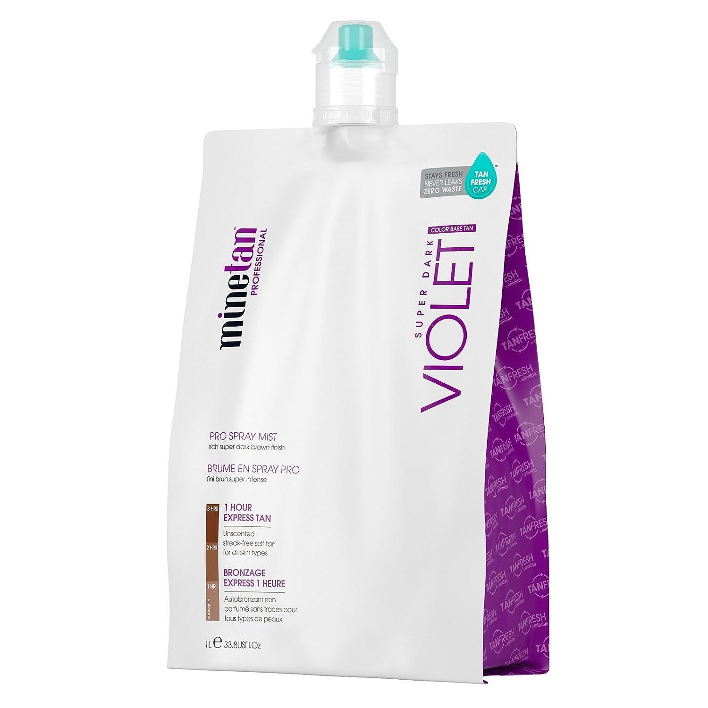 MineTan Pro Spray Mist, Violet, 33.8 Fluid Ounce