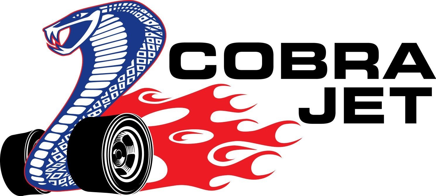 Amazon Com Cobra Jet 428 Logo Wall Decal Vinyl Sign 3d Cartoon Car