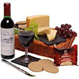 Wine & Cheese Hamper - Hampers and Gift Baskets - Cheese & Wine Gift Hamper