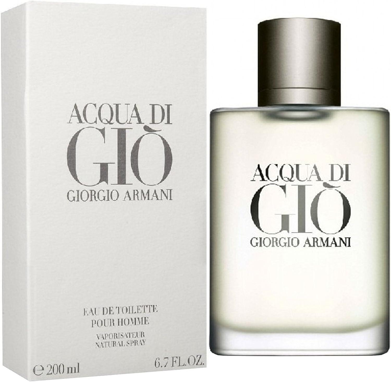 Giorgio armani - De agua gio hombre eau de toilette 200 ml