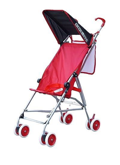 Amazon.com : BeBeLove USA Single Umbrella Stroller, Solid Red : Baby