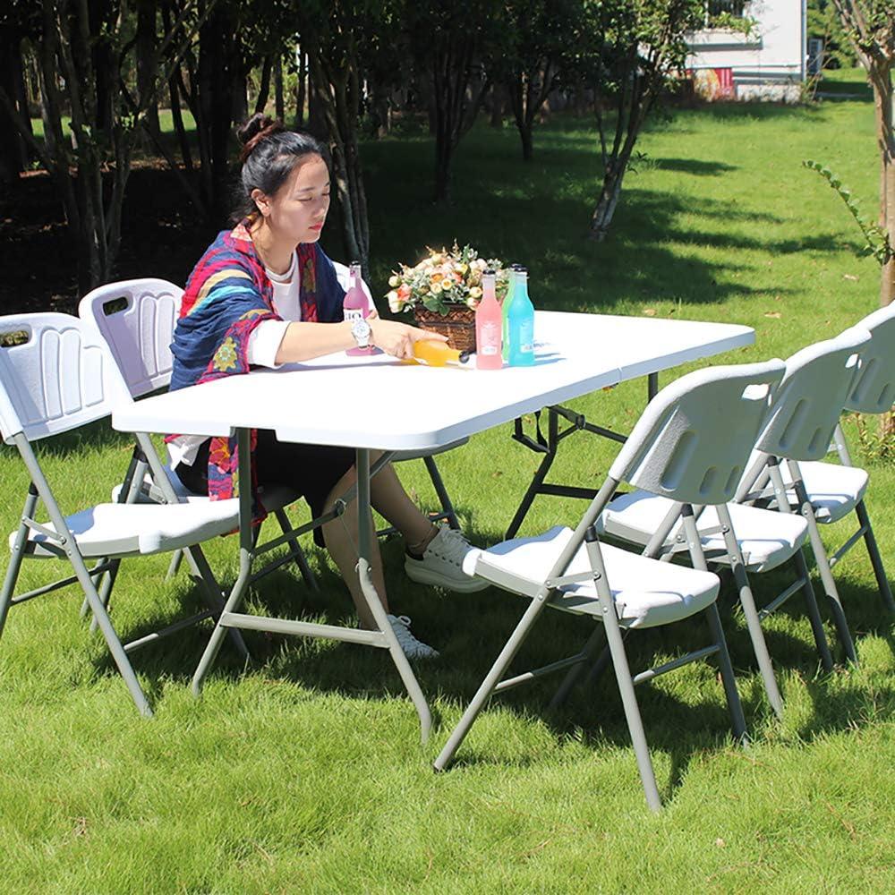 soges Tavolo Pieghevole da Campeggio al Coperto per Esterni da Picnic Tavolo Portatile da Tavolo HP-152CZ