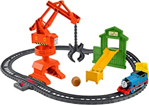 Thomas & Friends Fisher-Price Cassia Crane & Cargo Train Set, GHK83
