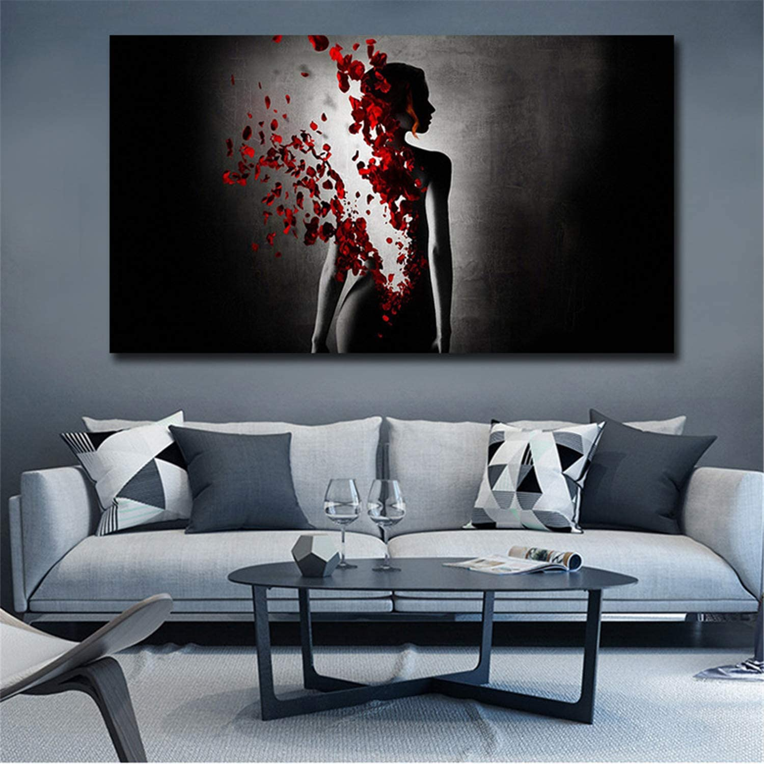 Movie Character Paintings HD Prints Abstract Poster Wall Canvas FT