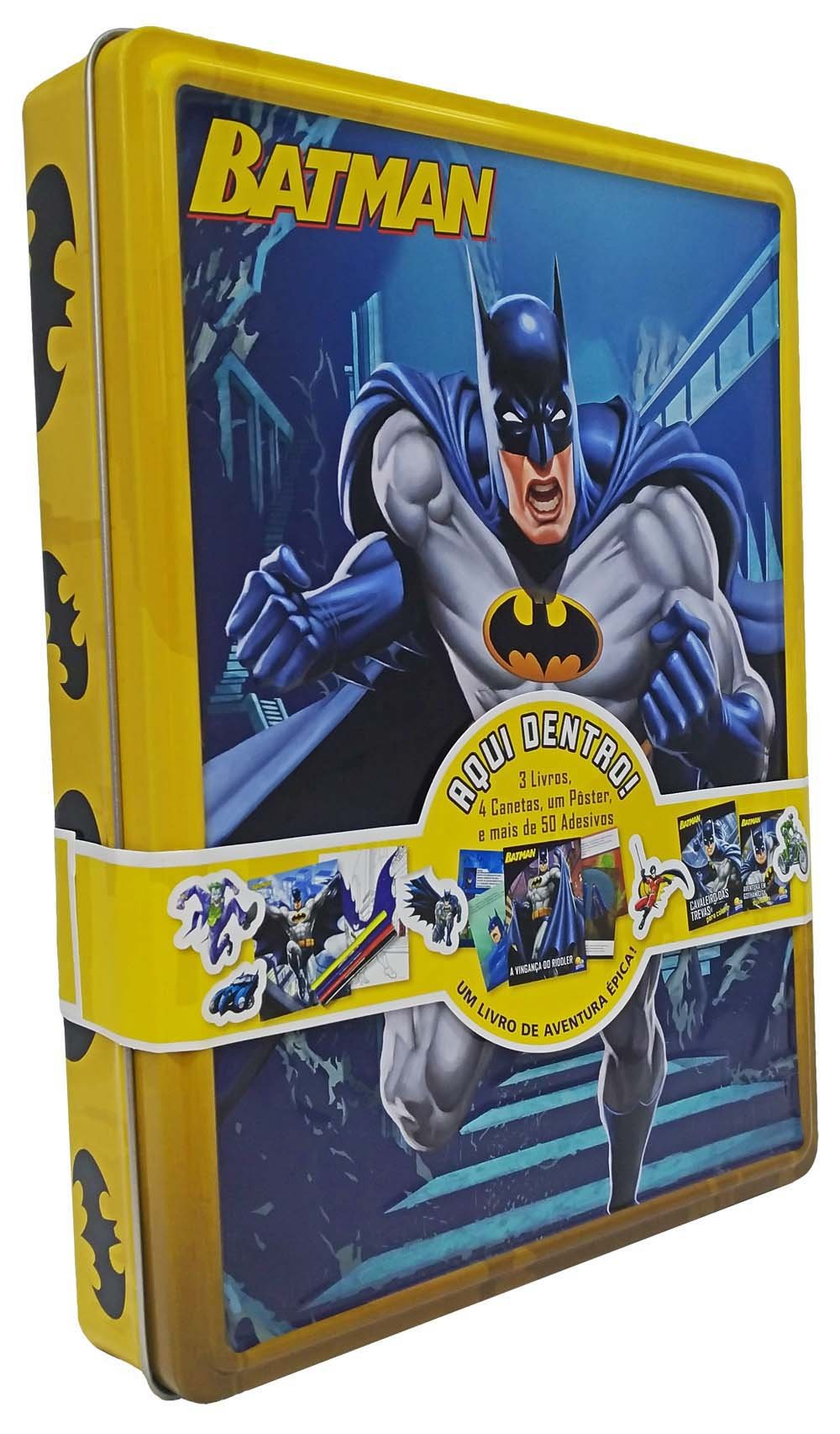 Aventuras Na Lata Batman Varios Autores 9788537637142 Amazon