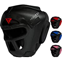 RDX Headguard for Boxing, MMA Training - Head Guard with Removable Face Grill, Cheeks, Ear, Mouth Protection-Headgear for Muay Thai, Grappling, Sparring, Kickboxing, Karate, Taekwondo, Martial Arts