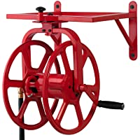 Liberty Garden Products 713 Revolution Multi-Directional Garden Hose Reel, Red