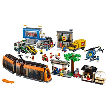 Amazon.com: LEGO City Town City Square 60097 Building Toy: Toys & Games
