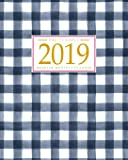 Image for 2019 Planner Weekly And Monthly: Calendar Schedule + Organizer | Inspirational Quotes And Gingham Cover | January 2019…