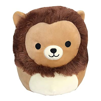 "Squishmallow Original Kellytoy Brown Lion 16"" Stuffed Animal Pet Pillow Easter Holiday Birthday Gift: Toys & Games"