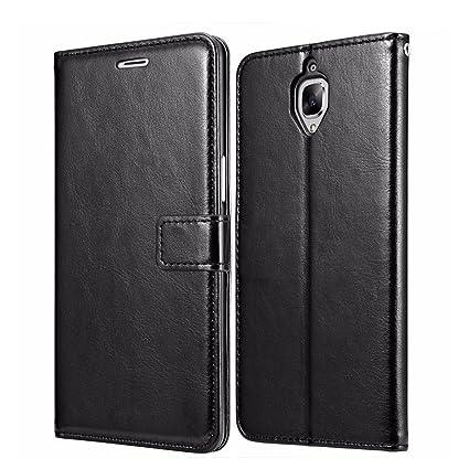 innovative design cc05b 21c97 OnePlus 3 Wallet Case, OnePlus 3T leather Case, Heyqie(TM) Premium ...
