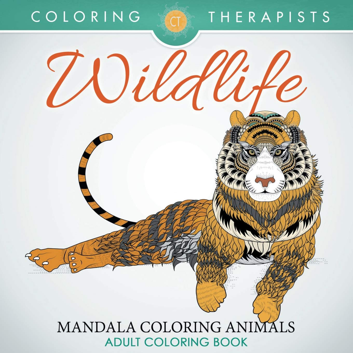 Wildlife: Mandala Coloring Animals - Adult Coloring Book: Amazon.es: Coloring Therapist: Libros en idiomas extranjeros
